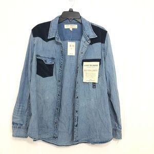 Lucky Brand Remade Western Shirt Size XL